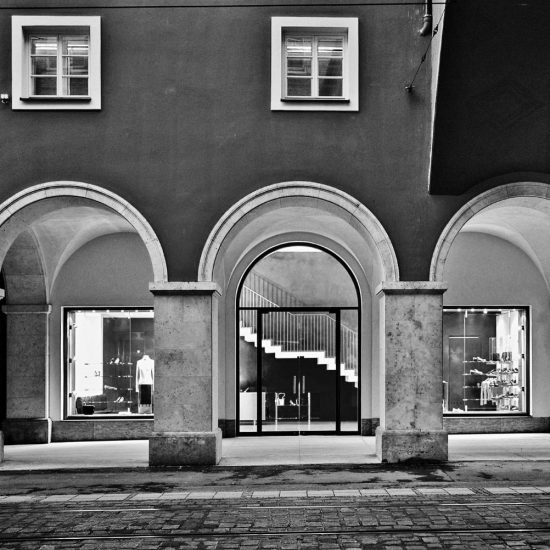 Negozi Steiger Progetto Ivano Gianola Architetto