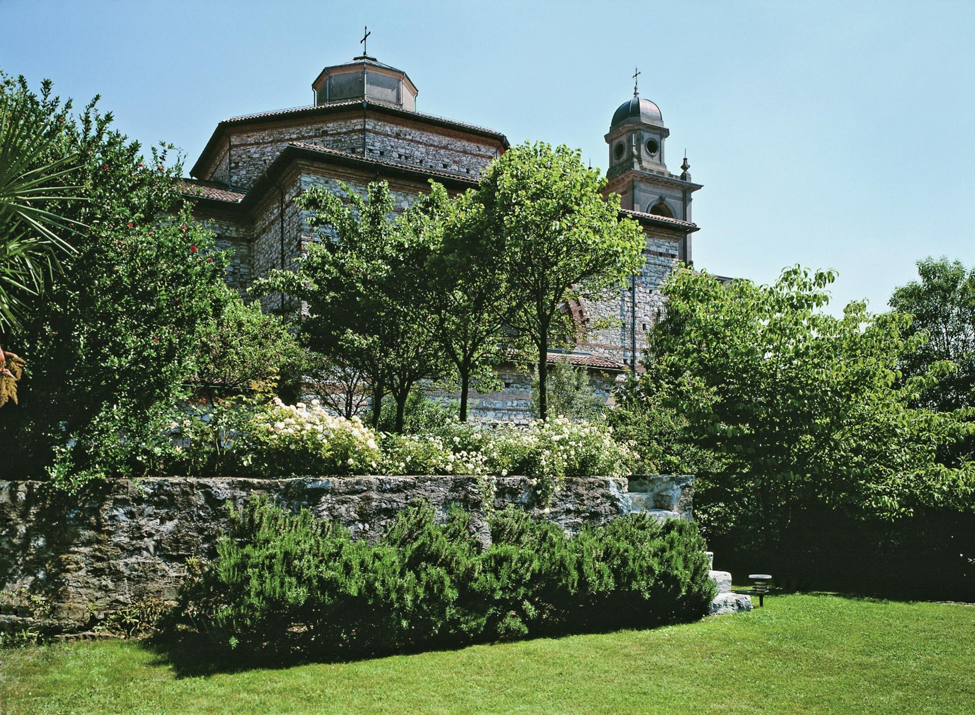 giardino Mendrisio Chiesa