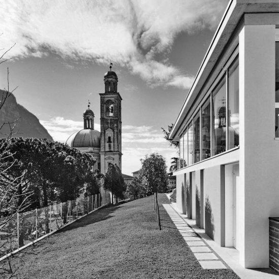 Casa Carrion giardino progetto Ivano Gianola