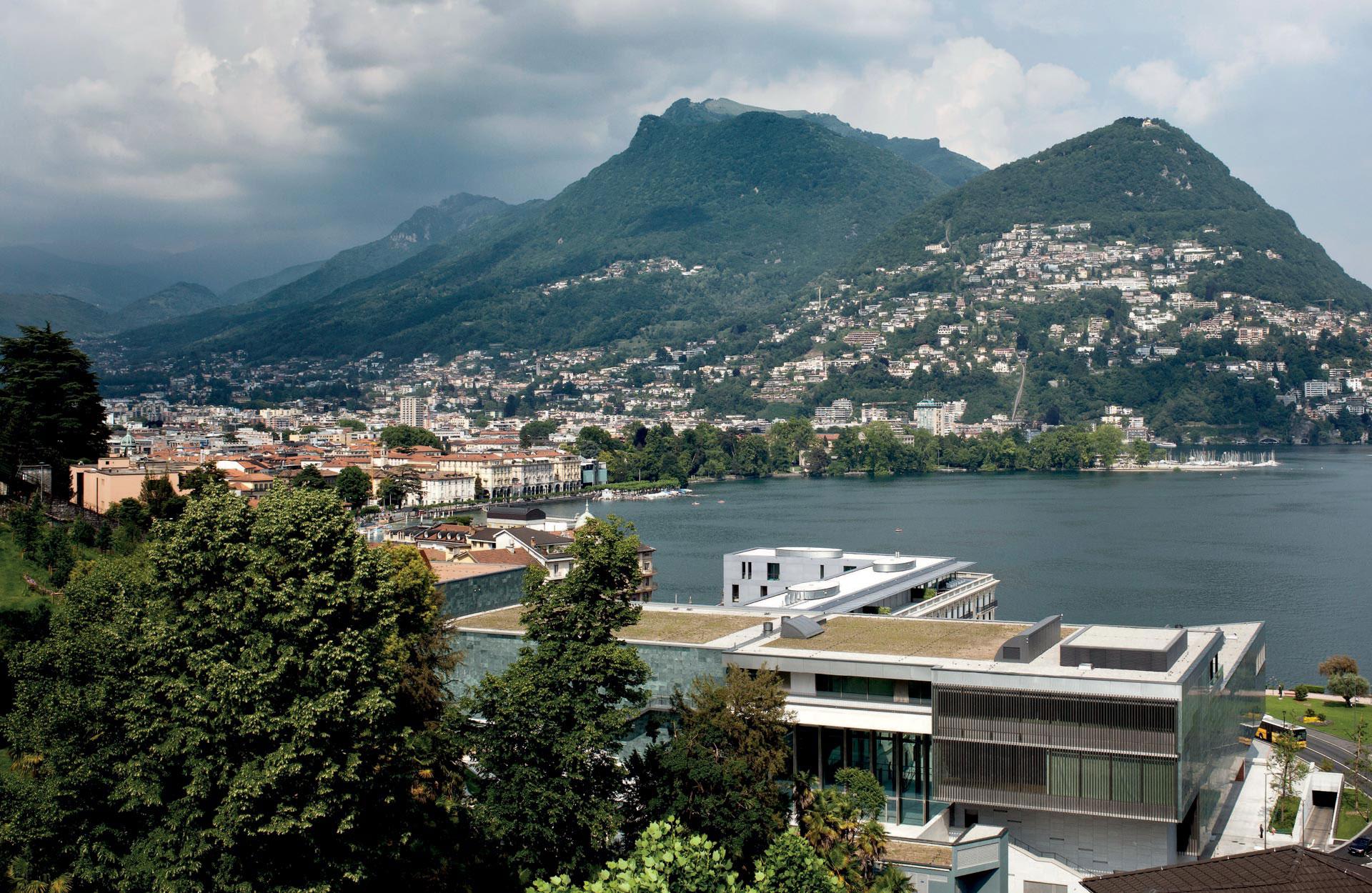 panorama LAC Lugano