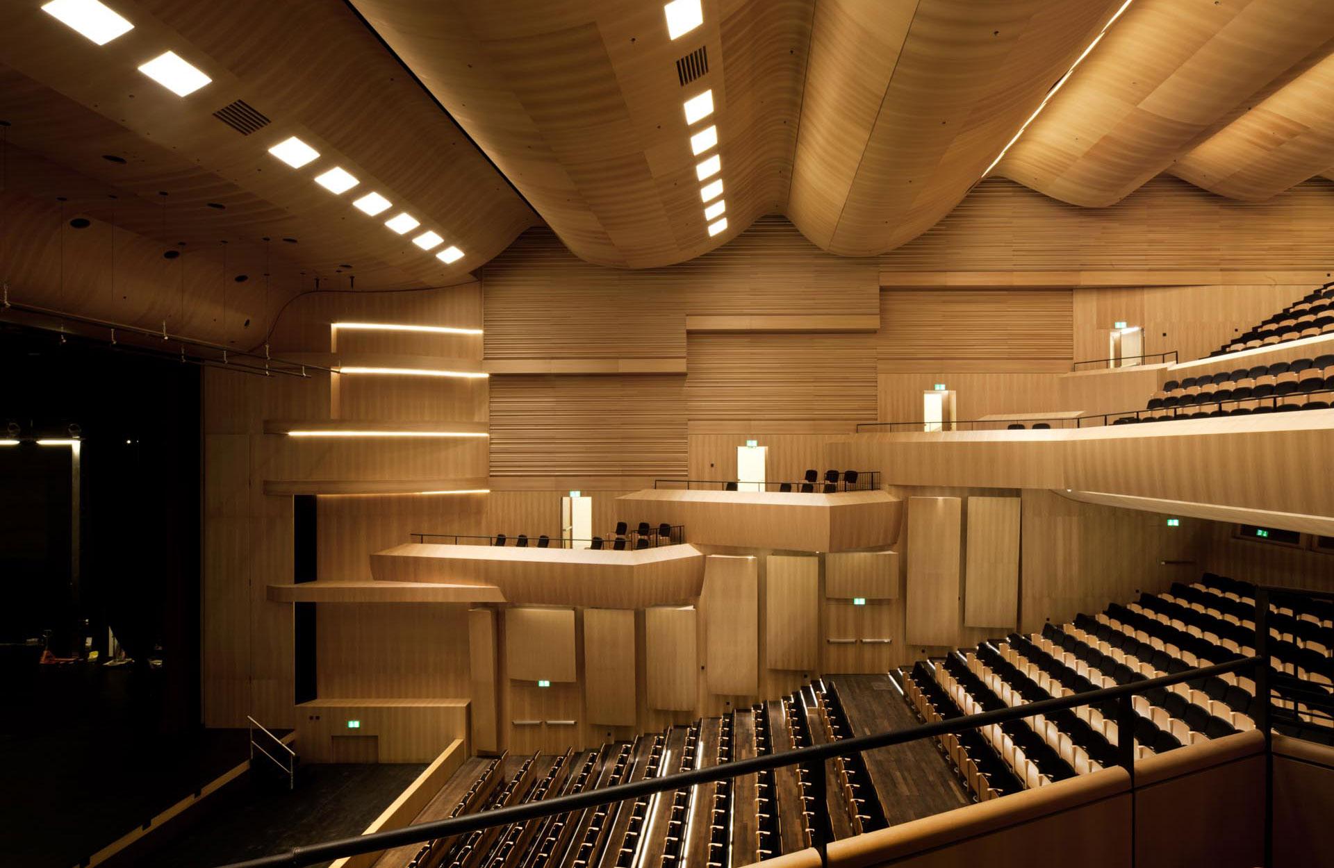 sala acustica perfetta