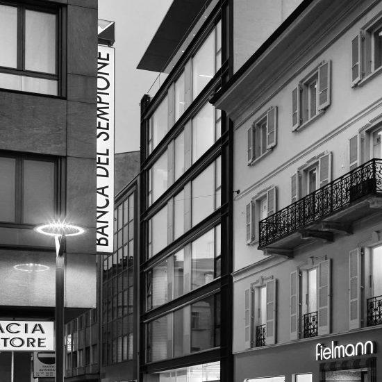 Lugano Via Peri 6 Progetto Ivano Gianola