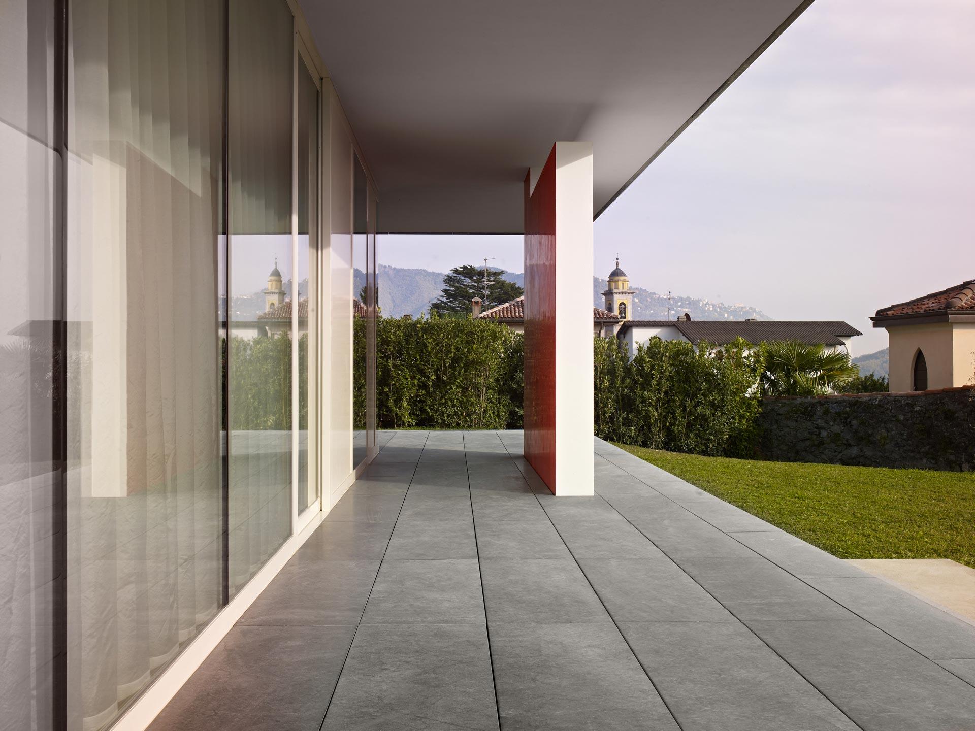 dettagli di abitazione progettata da Ivano Gianola