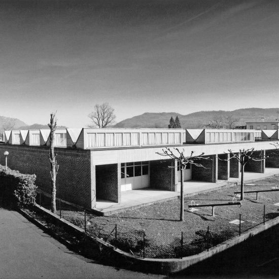 Scuola Materna Balerna edificio protetto progetto Ivano Gianola 1974