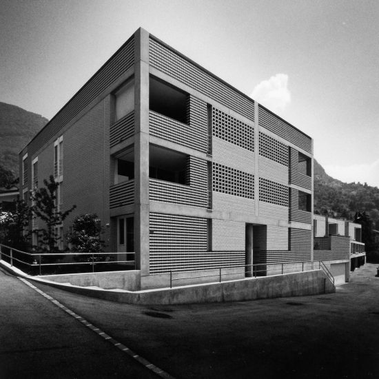 Pregassona residenza progetto Ivano Gianola